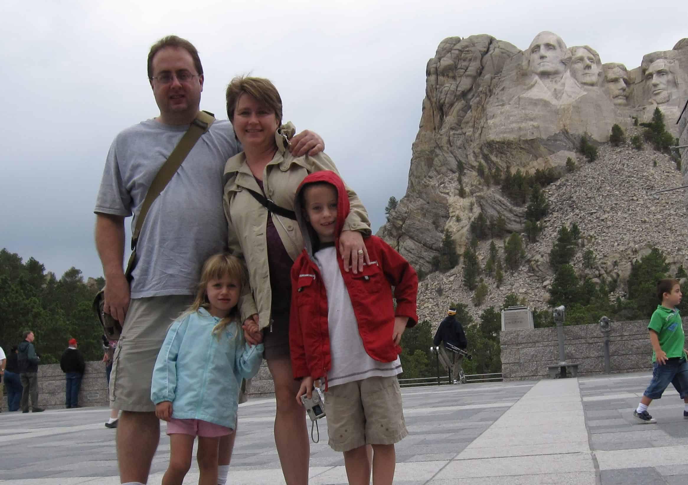Family Travel Goals Mt Rushmore