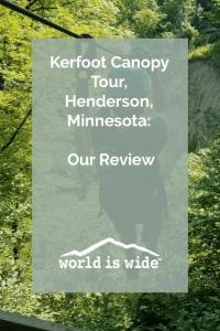 Kerfoot Canopy Tour Henderson Minnesota