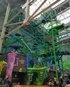 Dutchmans Deck Adventure Course at Nickelodeon Universe