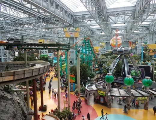 Nickelodeon Universe Mall of America