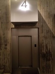 Door to the Gateway Arch lift, St Louis