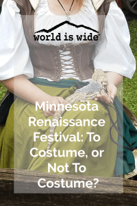 Minnesota Renaissance Festival Costume