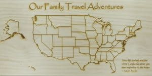 World is Wide Family Travel Maps