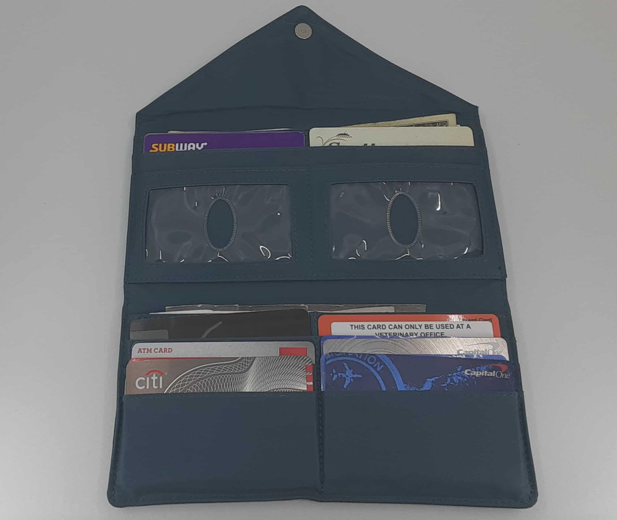 Big Skinny travel wallet