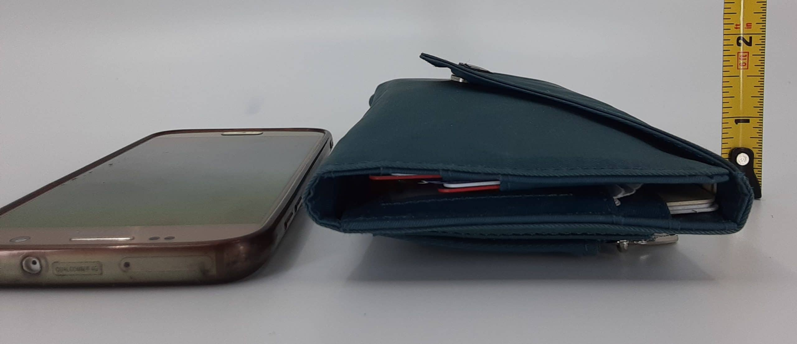 Big Skinny travel wallet - profile