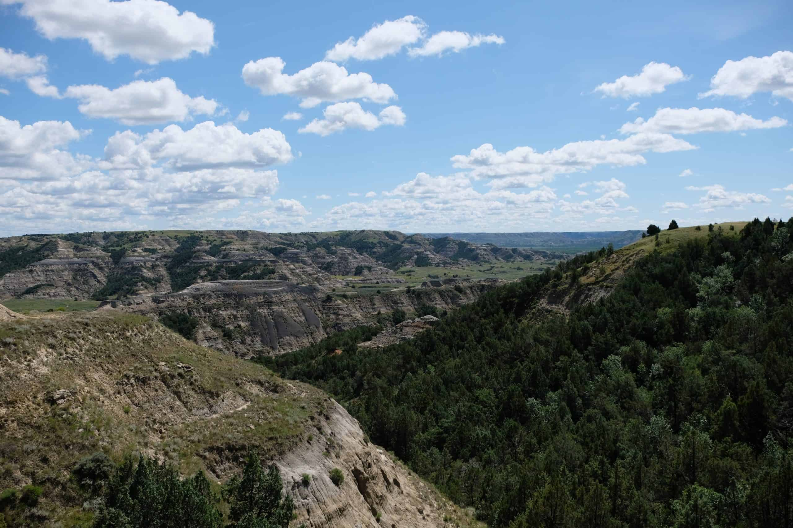 Caprock Coulee Trail Theodore Roosevelt National Park